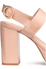 Platform sandals - Powder beige - Ladies | H&M 4