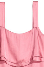 Satin dress - Pink - Ladies | H&M 3
