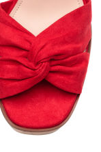 Sleehaksandalen - Rood - DAMES | H&M BE 3
