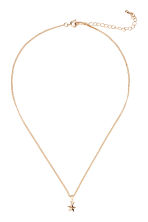 Necklace with a pendant - Gold/Star - Ladies | H&M 1
