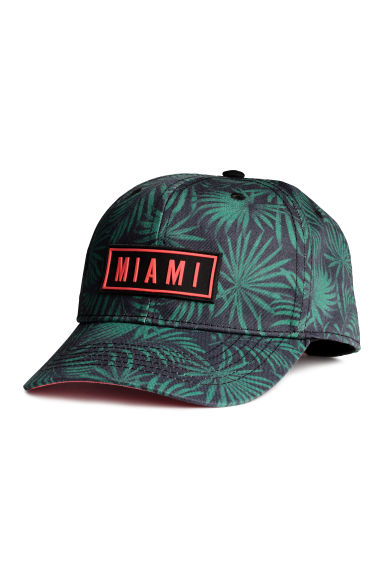 Cap with appliqué - Black/Miami - Kids | H&M 1