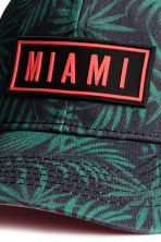 Cap with appliqué - Black/Miami - Kids | H&M 3