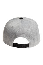 Cap with appliqué - Light grey/New York - Kids | H&M CN 3