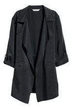 Lyocell jacket - Black -  | H&M GB 2