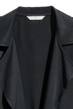 Lyocell jacket - Black -  | H&M GB 3