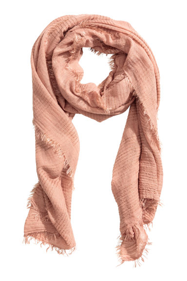 Airy scarf - Powder pink - Ladies | H&M CN 1