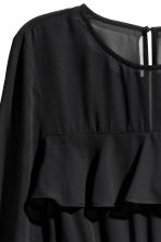Flounced dress - Black - Ladies | H&M 3
