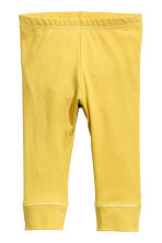 2-pack jersey leggings - Yellow -  | H&M 2