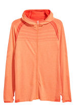 Seamless running top - Orange marl - Men | H&M 2