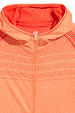 Seamless running top - Orange marl - Men | H&M 3