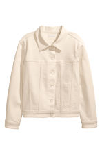 Denim jacket - Natural white denim - Ladies | H&M GB 2