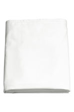 Cotton flat sheet - White - Home All | H&M CN 2