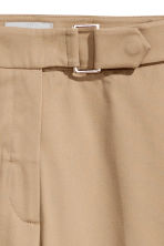 Wide trousers - Beige - Ladies | H&M 3