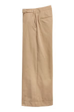 Wide trousers - Beige - Ladies | H&M 2