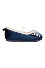 Ballerine - Blu scuro -  | H&M IT 2