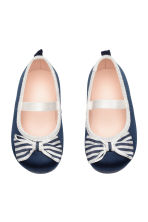 Ballerine - Blu scuro -  | H&M IT 1