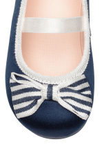 Ballerine - Blu scuro -  | H&M IT 4