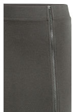 Long sweatshirt skirt - Dark grey - Ladies | H&M 3