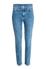 Slim High Waist Jeans - Denim blue - Ladies | H&M 2