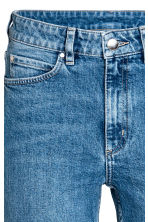 Slim High Waist Jeans - Denim blue - Ladies | H&M 4