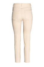 Slim High Waist Jeans - Natural white denim - Ladies | H&M 3