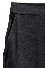 Pantaloni ampi in seta - Nero - DONNA | H&M IT 3