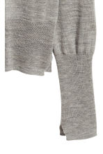 Cashmere-blend jumper - Grey marl - Ladies | H&M CN 3