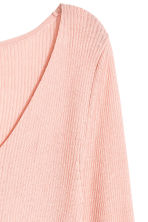 Silk-blend V-neck jumper - null -  | H&M CN 3