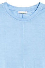Silk top - Light blue - Ladies | H&M CA 3