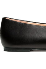 Ballerine in pelle - Nero - DONNA | H&M IT 5