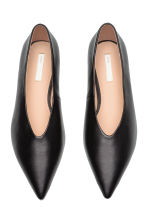 Ballerine in pelle - Nero - DONNA | H&M IT 3