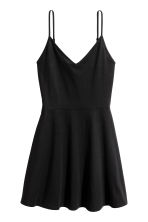 Short jersey dress - Black - Ladies | H&M CN 2