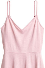 Short jersey dress - Light pink - Ladies | H&M 3