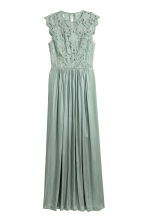 Long dress - Dusky green - Ladies | H&M CA 2