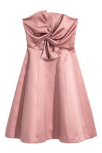 Short bandeau dress - Vintage pink - Ladies | H&M CN 2