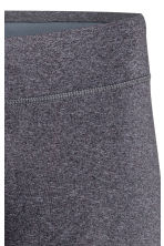Sports tights - Dark grey marl - Ladies | H&M 4