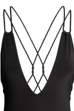 Swimsuit with twisted straps - Black - Ladies | H&M 4