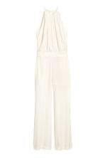 Sleeveless jumpsuit - Natural white - Ladies | H&M CN 2