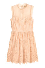 Lace dress - Powder - Ladies | H&M IE 2