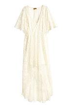 Lace dress - Natural white - Ladies | H&M CN 2