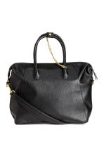Handbag with key chain - Black - Ladies | H&M 1