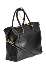 Handbag with key chain - Black - Ladies | H&M 2