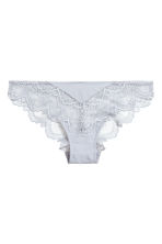 Lace briefs - Light grey - Ladies | H&M 2