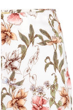 Flared trousers - Natural white/Floral - Ladies | H&M CN 3