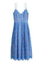 Lace dress - Blue - Ladies | H&M 2