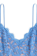 Lace dress - Blue - Ladies | H&M 3
