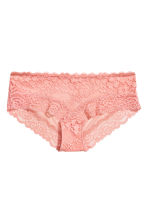 Lace hipster briefs - Salmon pink - Ladies | H&M 2