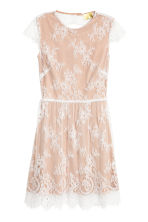 Lace dress - Powder/White -  | H&M 2