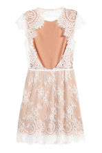 Lace dress - Powder/White -  | H&M 3