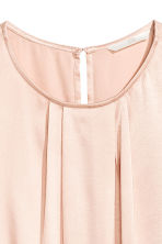 Sleeveless blouse - Powder pink - Ladies | H&M CN 3
